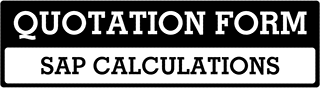 SAP Calculations Quote  For Edinburgh